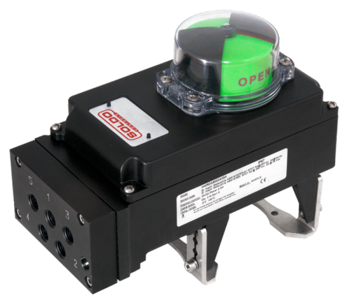 Limit Switch Boxes with integrated Solenoid Valves