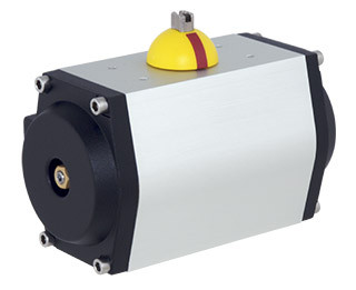 GT Range single- and double-acting pneumatic piston actuators